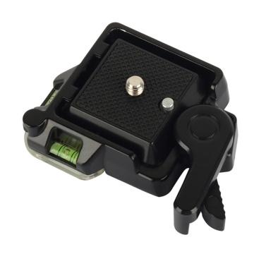 Quick Release Plate for DSLR Cameras & Tripod & Monopod