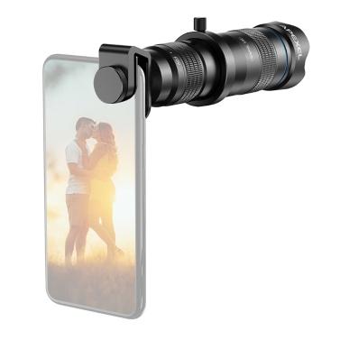APEXEL APL-JS28X HD 28X Metal Single-tube Telescope Phone Telephoto Lens