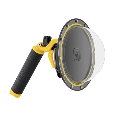 TELESIN 7-inch Action Camera Dome Port 30m Waterproof Protective Diving Housing Case Cover