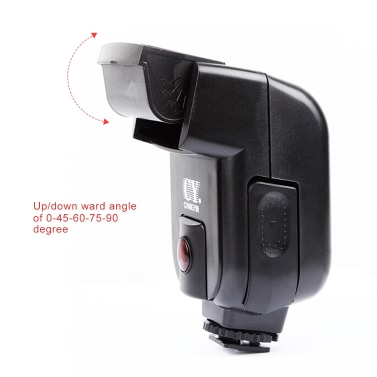 YinYan CY-20YS Studio Flash Infrared Trigger Commander with 2.5mm PC Sync Port Adjustable Pitch Angle for Nikon Canon Panasonic Olympus Pentax Sony Alpha Digital Camera