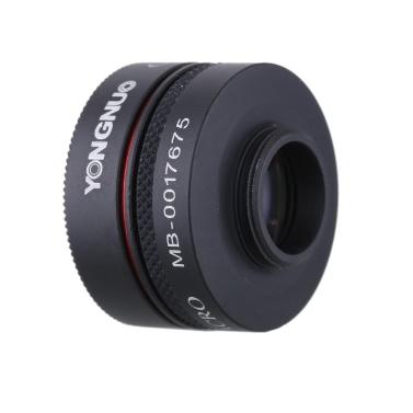 YONGNUO Smartphone Handy Kamera Foto 0,65 X Weitwinkel und Makro-Objektiv