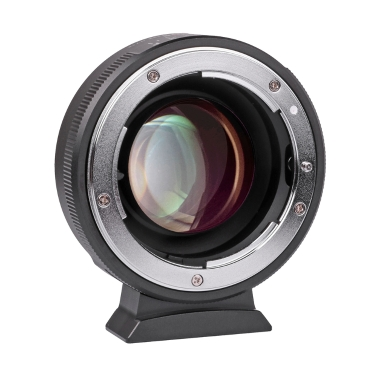 Viltrox NF-M43X 0.71X Lens Mount Adapter Ring Focal Reducer Speed Booster 8 Aperture Manual Focus Nikon G D Lens use Micro Four Thirds M4/3 Camera