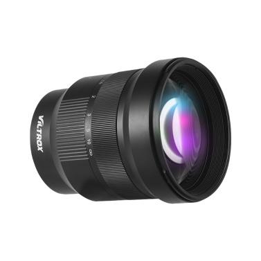 Viltrox PFU RBMH 85mm F1.8 Large Aperture Full Frame Manual Focus Prime Lens Fixed Focus Lens