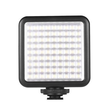 Andoer W81 Mini Interlock Camera LED Light Panel 6.5W Dimmable 6000K Camcorder Video Lamp Shoe Mount Adapter DJI Ronin-S OSMO Mobile 2 Zhiyun Smooth 4 Gimbal Stabilizer Canon Nikon Sony DSLR
