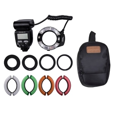 YONGNUO Professional YN14EX II Macro Ring Flash Light Kit