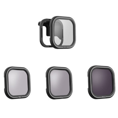 TELESIN Camera Filter Sets 4Pack CPL ND8 ND16 ND32 Filters Lens Protector