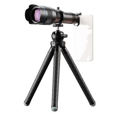 APEXEL APL-JS60XJJ09 Metal 60X HD Phone Telephoto Zoom Lens Kit Monocular Telescope