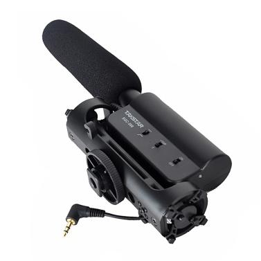 Microfono per la registrazione di interviste di fotografia a condensatore