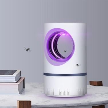 Haushaltsmückenmörder Inhalation Mückenfallenlampe Elektronischer Moskito-Zapper LED-Fallenlampe Starker Saugventilator