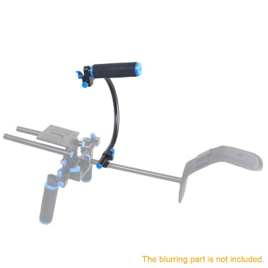 15mm C Shaped Bracket Top Handle Grip DSLR Camera DV Camcorder