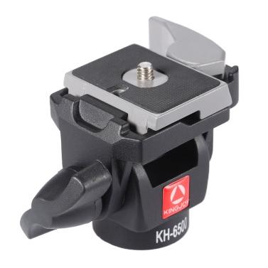 KINGJOY KH-6500 tragbare Kamera Ball Kopf Aluminiumlegierung Einbeinstativ Tilt Schwenkkopf für Canon Nikon Sony max. Last 2,5 Kg