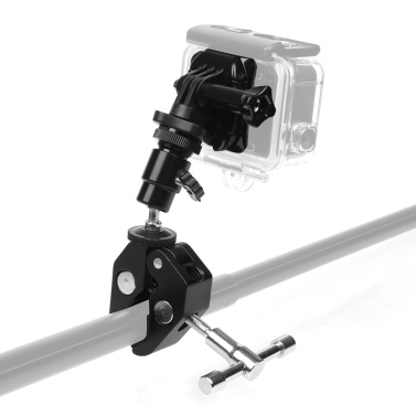 Gun Fishing Rod Bow Arrow Stick Fixed Clip Holder for GoPro Hero 7 6 5 4 3 for SJCAM Yi Eken Action Camera
