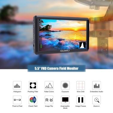 FEELWORLD Portable Camera Field Monitor