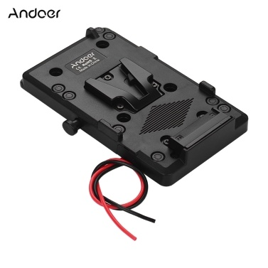Andoer Back Pack Plate Adapter mit D-Tap-Ausgang