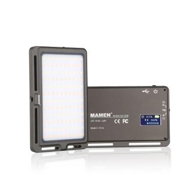 MAMEN LED-120B Lâmpada de luz de vídeo ultra fina LED