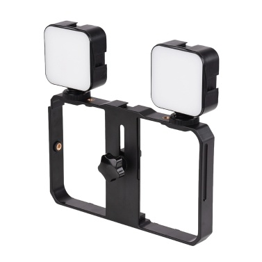 Andoer Mini LED Videolicht 5W Fotografie Einfülllampe 6500K Dimmbar