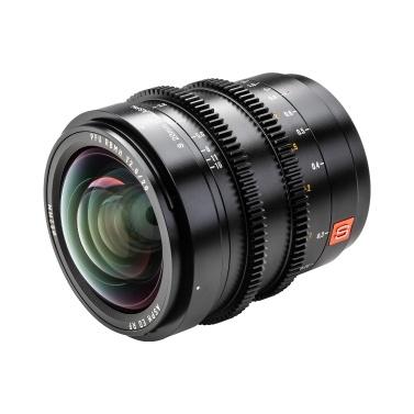 Viltrox S20mm T2.0 ASPH Vollformat L-Mount Weitwinkel-Cine-Objektiv Prime-Objektiv mit großer Blende