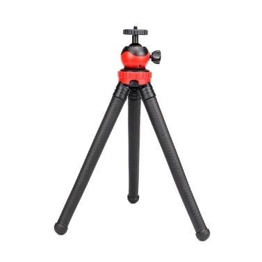Flexible Octopus Tripod Stand Vlog Bracket with 1/4 Inch Screw