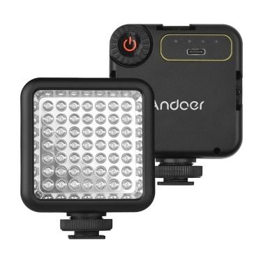 Andoer IR49S Mini IR Night Vision Light Infrared Photography Light for Video Camera Camcorder