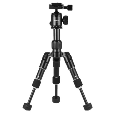 XILETU Ultra-Compact Desktop-Mini-Stativ Kit mit Kugelkopf für Canon Nikon DSLR-Kamera