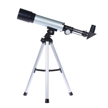 360 / 50mm Monokulare Refraktionsraum Astronomisches Teleskop