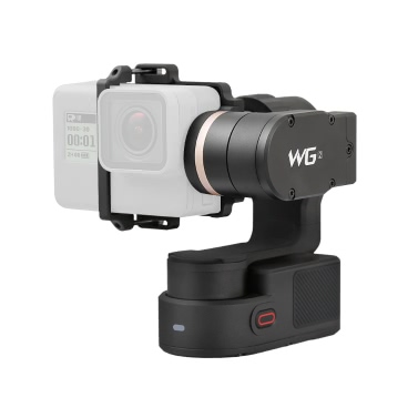 FeiyuTech WG2 3-Axis Wearable Gimbal Waterproof Support APP Wireless Remote Control for GoPro Hero5 Hero4 Session for Xiaomi Yi SJCAM EKEN APEMAN AKASO and Other Action Cameras with Similar Dimensions