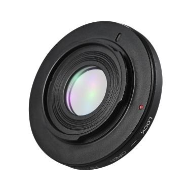 FD-AI Objektivbefestigung Adapter Kameraobjektiv Adapterring mit optischer Korrektur Objektivfokus Infinity für Canon FD Objektivbefestigung für Nikon AI F-Mount SLR Kameragehäuse für Makroaufnahmen