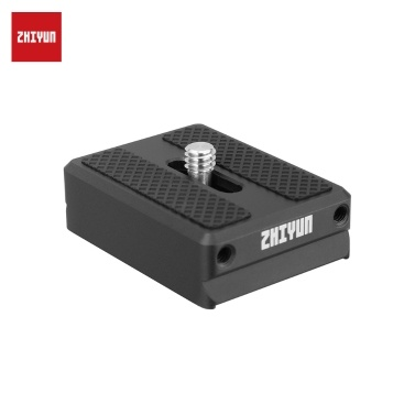 Zhiyun Transmount 1.5cm Camera Backing Base Quick Release Camera Mount Adapter for Zhiyun Weebill Lab /Crane 2 /Crane V2 /Crane Plus /Crane-M Gimbal Stabilizer Accessory
