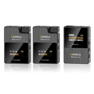 COMICA BoomX-D D2 One-Trigger-Two 2.4G Digital Wireless Microphone System