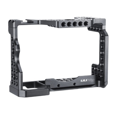 UURIG C-A73 Camera Cage Aluminum Alloy with Cold Shoe Mount