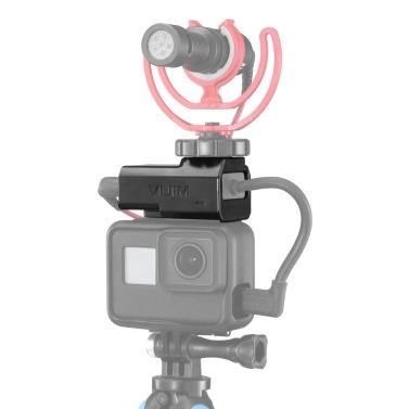 VIJIM Camera Microphone Adapter Expansion Bracket Quick Installation