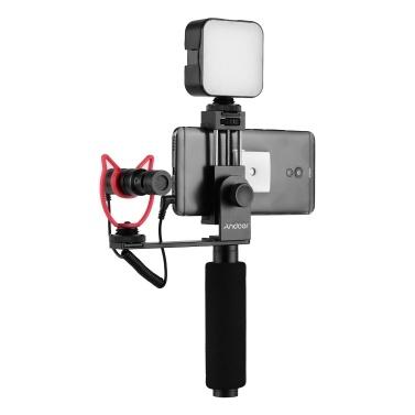 Andoer Smartphone Vlogging Handgriff
