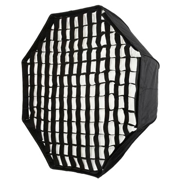 "120cm/48 ""Portable faltbare Octagon Umbrella Softbox Diffusor Reflektor mit Wabenraster zu Fotografie Fotostudio Flash Speedlite Strobe-Beleuchtung"
