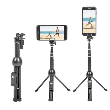 Yunteng 2 in 1 Portable Foldable Phone Selfie Stick Tripod