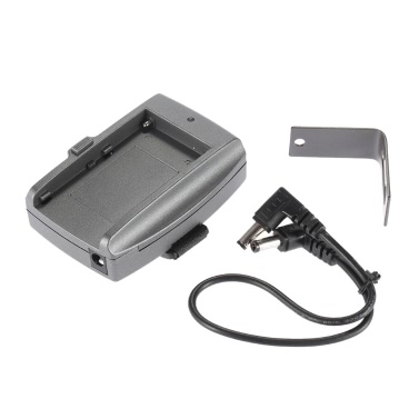 Batterie-Adapter Platte Basis für Sony NP-F 970 F750 F550 Akku mit DC-Kabel