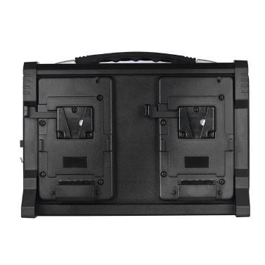 Andoer AD-4KS 4-Kanal-Camcorder Akkuladegerät für V-Mount Akku für DSLR-Videokamera