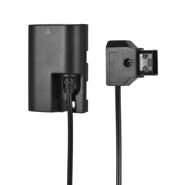 "Andoer D-Tap auf LP-E6 Vollständig dekodierter Dummy-Akku-Adapter 36 ""Straight Power Adapterkabel DC-Koppler DR-E6 mit Reverse Polarity Protection für Canon 5D II / III / IV 5DSR 6D 6DII 60D 70D 80D 7D 7DII"