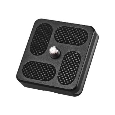 40 * 38 mm Aluminiumlegierung Universal-Schnellwechselplatte D-40T QR-Platte