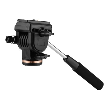 Professional Camera Video Fluid Drag Pan Head Damping Tripod Head