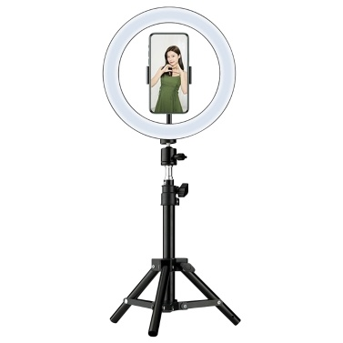 10 Inch LED Ring Light with Detachable Stand