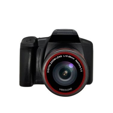 Digitalkamera 16X Fokus Zoom Design Auflösung 1280 * 720 Unterstützte SD-Karte 4 * AA Batteriebetrieben Betrieb für Fotos im Studio