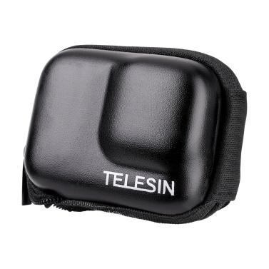 TELESIN Protective Bag Storage Case Zipper Carry Bag Semi-open IP54 Waterproof