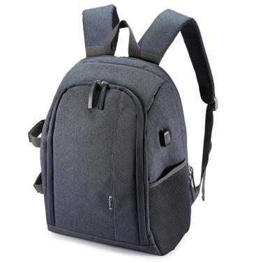 Multi-functional Camera Knapsack Large Capacity Portable Travel Camera Bag Computer Bag