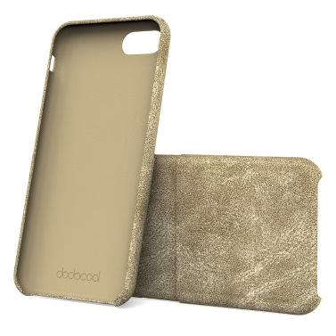 dodocool PU-Leder-Telefon-Mappen-Kasten Schutzhülle mit Kreditkarte-Halter-Schlitz für 4,7-Zoll-iPhone 7 Black