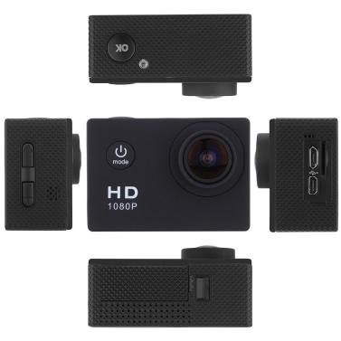 """F23 1080P 30 FPS 12MP 1,5"""" Bildschirm 30M wasserdicht stoßfest 170° Weitwinkel im freien Action Kamera Camcorder Digital Cam Video HD DV Sportwagen DVR"""