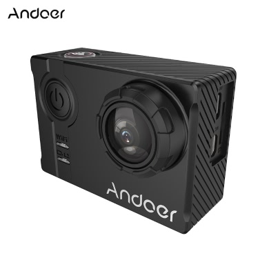 "Andoer AN7000  Full HD 16MP WiFi Anti-shake Waterproof Diving 60m 2.0"" LCD Sports DV Camera"