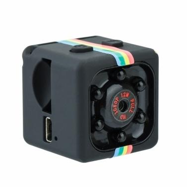 SQ11 1080PスポーツDVミニ赤外線ナイトビジョンモニター隠しカメラ車のDVデジタルビデオレコーダー