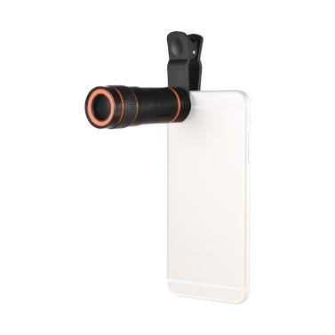 12X Zoom Optical Smartphone Telephoto Lens