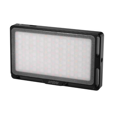 Andoer Portable RGB LED Video Light Panel