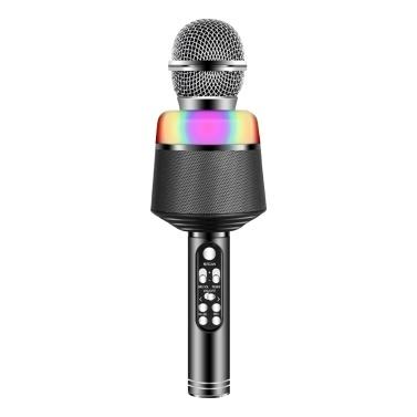 Microfone de mão sem fio Smartphone Karaoke Player